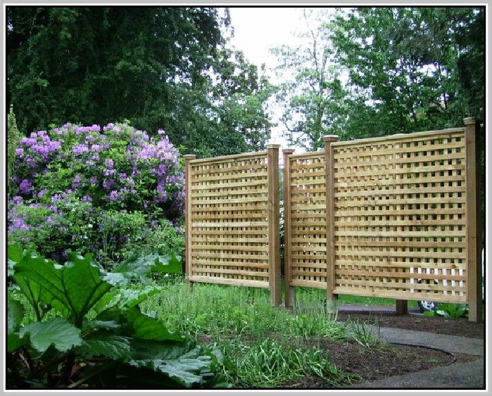 Best 25 Lattice Fence Panels Ideas On Pinterest Deck