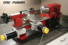 CNC FUSION - CNC Conversion Kits for benchtop lathes and mills - http://www.cncfusion.com/