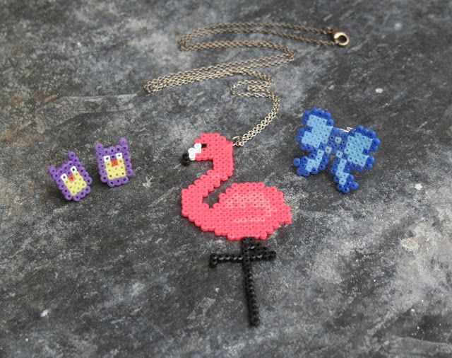 Homemade - mini hama beads