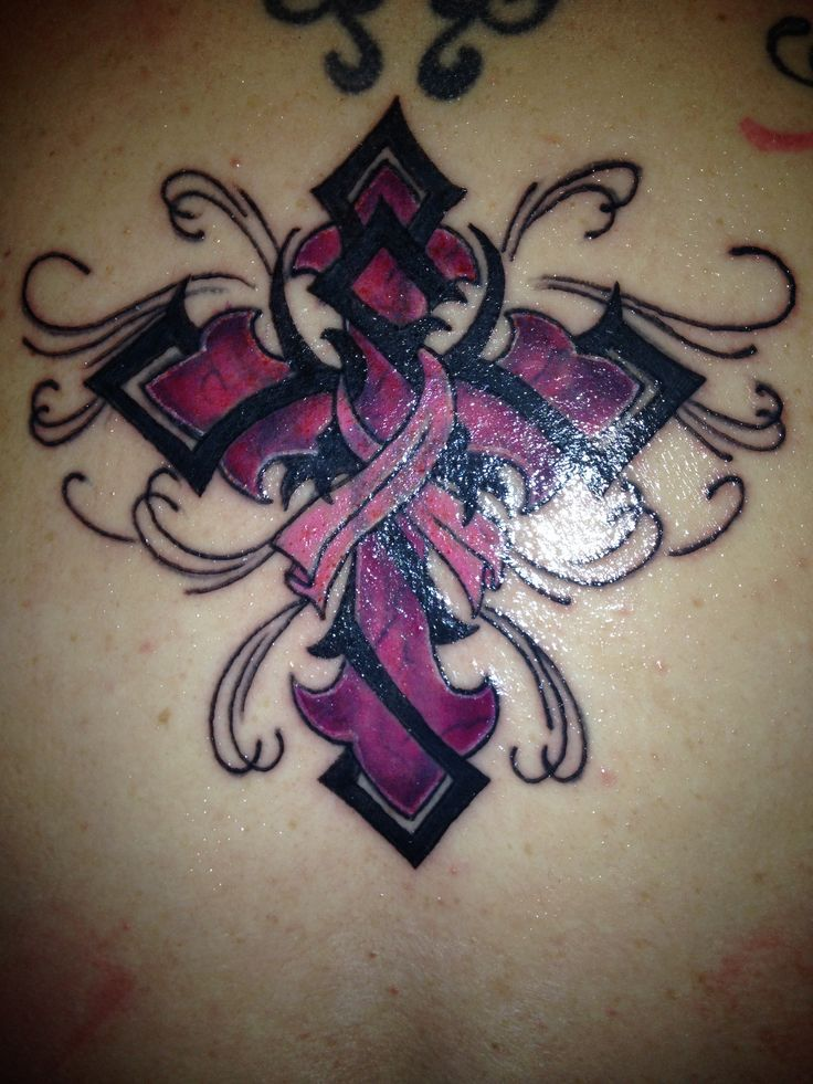147 best tattoo awareness ribbon designs and ideas images for Gold ribbon tattoos