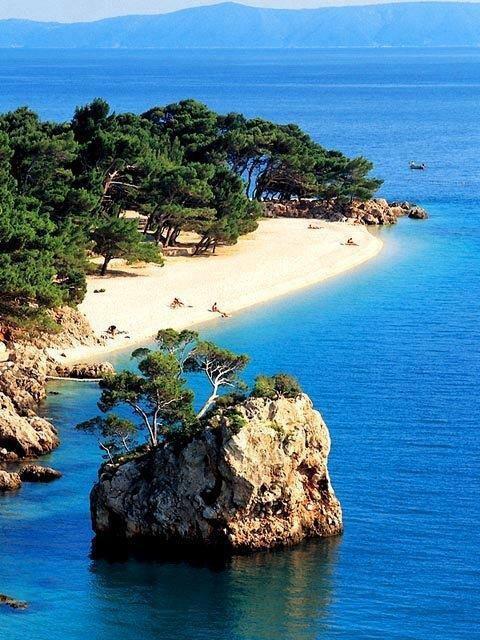 Vis, Croatia. Vis is a small Croatian island in the