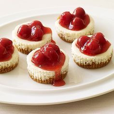 Weight Watchers Recipe - Cherry Cheesecakes -- 3 points