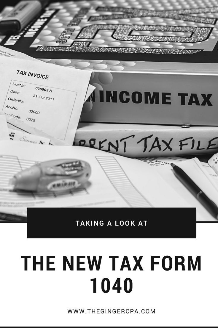 Tax Form 1040 Taking A Look At The Proposed Changes For 2019