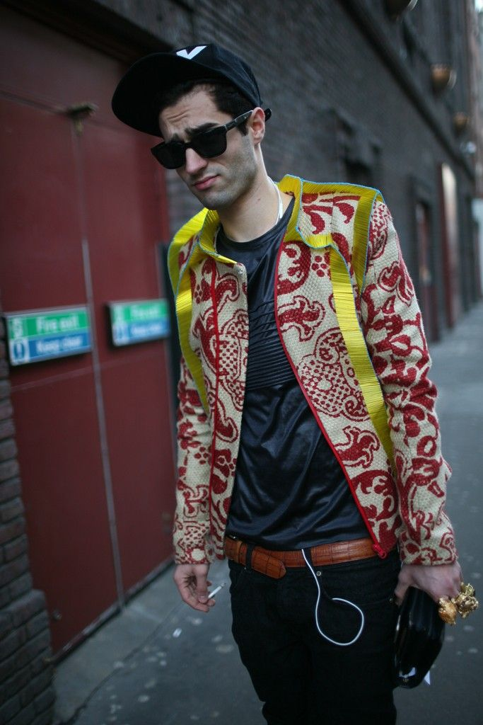 They Are Wearing: London Men's Fashion Week Fall 2013 - Slideshow - WWD.com