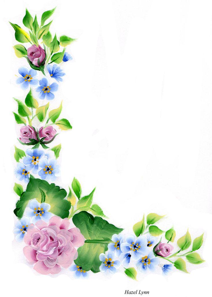 Corner flowers .Hazel Lynn.