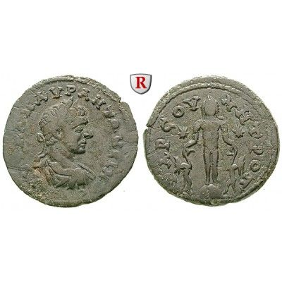 Römische Provinzialprägungen, Kilikien, Tarsos, Elagabal, Bronze, ss: Kilikien, Tarsos. Bronze 26 mm. Drapierte und gepanzerte Büste… #coins