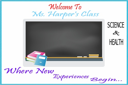 Welcome To Ms. Harper's Class - School Banner
