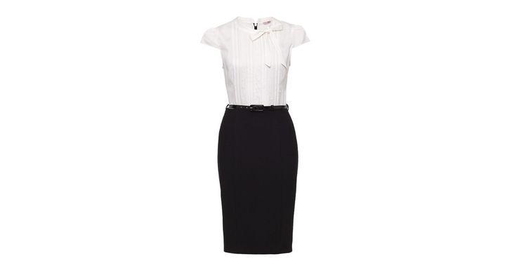 Eliana Dress Black/Cream   Dresses   Review Australia