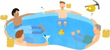 Νομισματοκοπείο: Μια πισίνα αλλιώτικη απ' τις άλλες! ΞΕΚΙΝΑ ΤΗ ΠΑΡΑΓΩΓΗ ΤΩΝ ΔΙΚΩΝ ΣΟΥ ΧΡΗΜΑΤΩΝ ΤΩΡΑ!!!