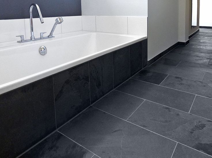 Badezimmer fliesen schiefer  10 besten Boden Bilder auf Pinterest | Wohnen, Fußböden und Badewannen