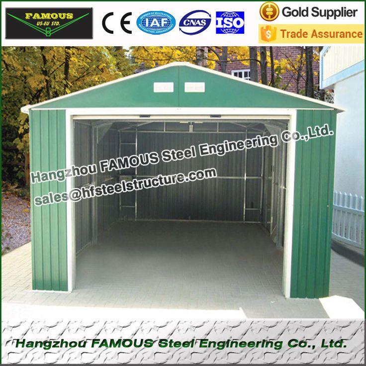 Prefabrykowanych konstrukcji stalowej wiaty dla samochodów parking i magazynowanie towarów