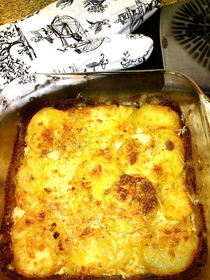 Tyler Florence's Scalloped Potato Gratin   My Newlywed Cooking Adventures