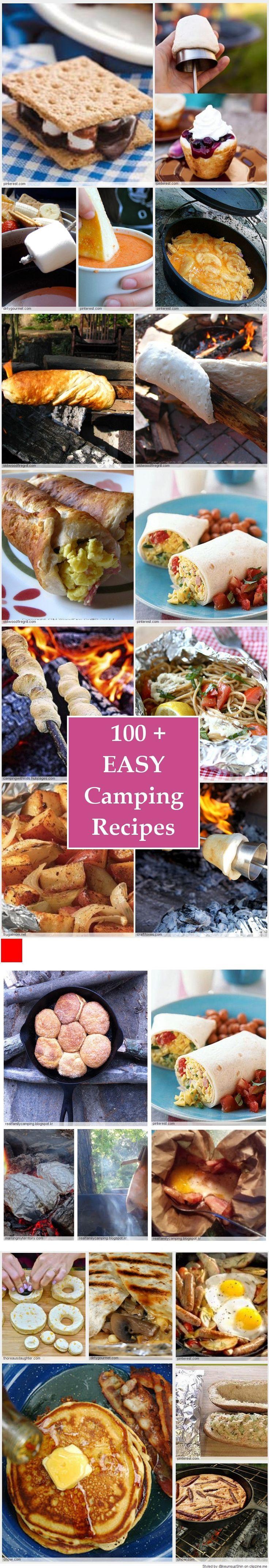 EASY Camping Recipes