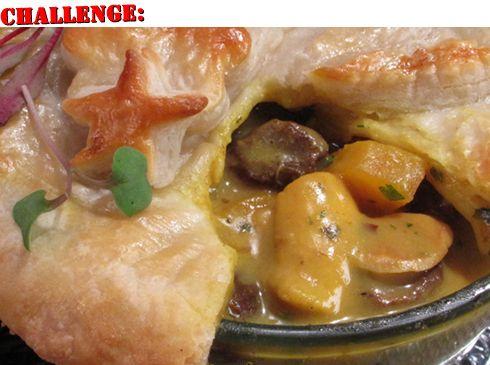 Curried Chicken Pot Pie = love | Mangia, Mangia! | Pinterest
