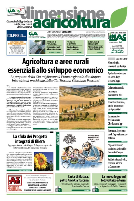Dimensione Agricoltura, maggio 2011