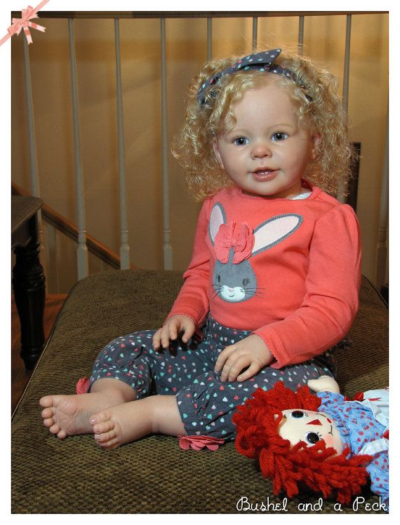 Custom Order For Reborn Katie Marie Toddler Baby Doll By