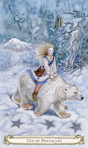 Ten of Pentacles - The Fairy Tale Tarot by Lisa Hunt
