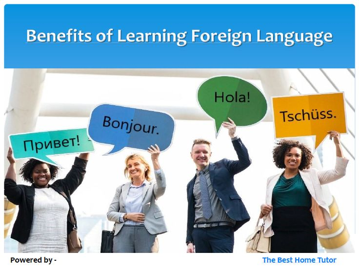 Language tutoring will help you maintain momentum in a