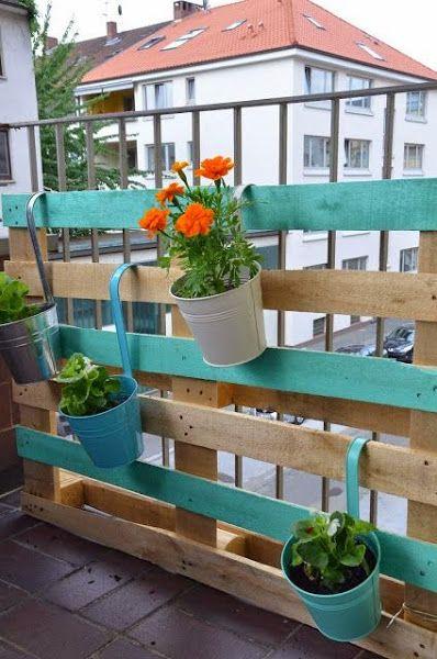 Cosas que puedes hacer con un palet. Especial terrazas | Decorar tu casa es facilisimo.com