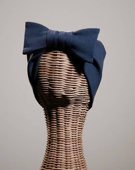 Bandalina Headband Blue Gray