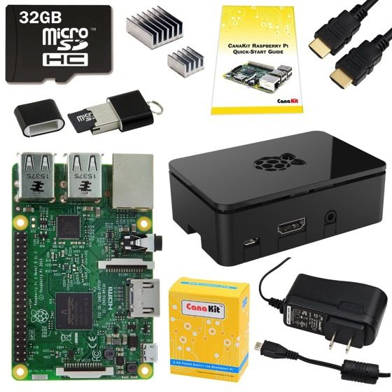 16 CanaKit Raspberry Pi 3 Complete Starter Kit    Douglas E. Welch Holiday Gift Guide 2017