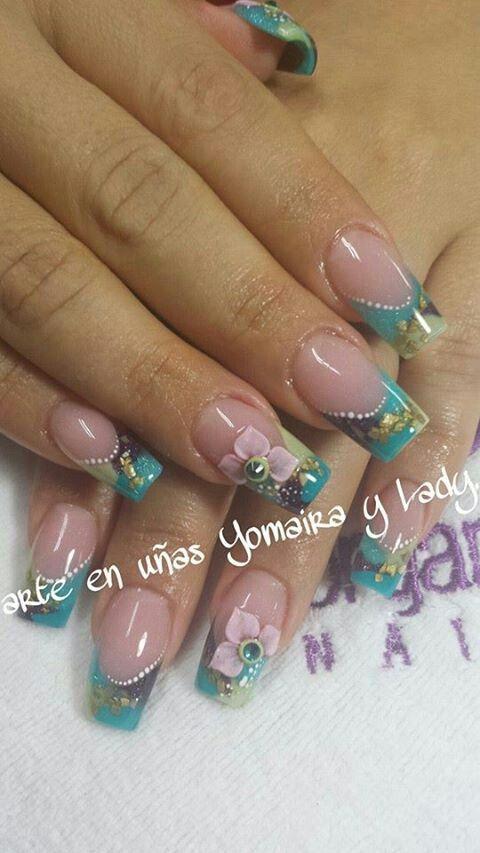 Arte en uñas Yomaira y Lady