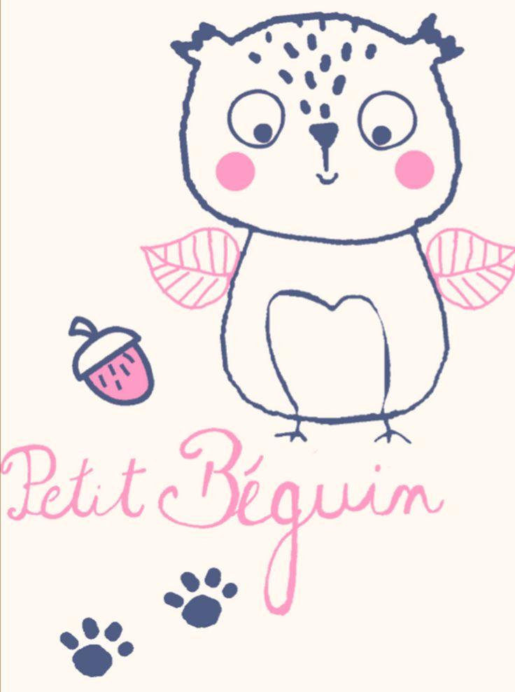 Couverture polaire bébé fille Petite Forêt - Petit Béguin