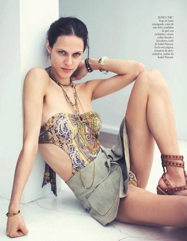 Aymeline Valade Vogue Spain June 2013 by David Bellemere