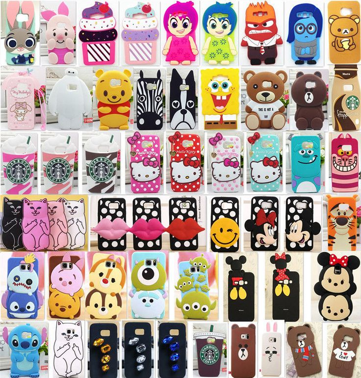 Cartoon Disney Silicone Soft Case Cover for Samsung Galaxy S5/6/7edge/Note5/4 UK