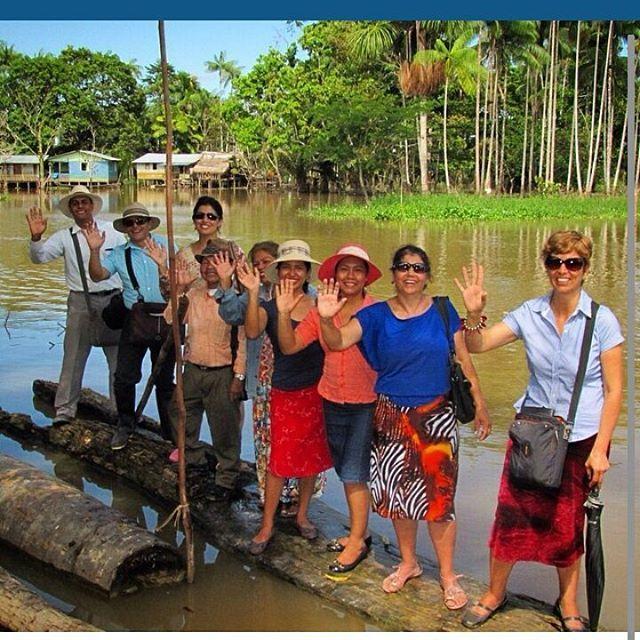 Preaching in the rural area the Amazon's jungle
