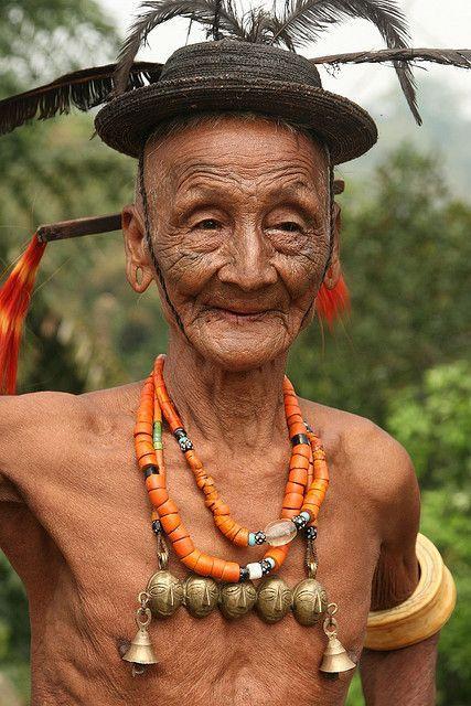 India - Nagaland   Konyak Naga.   © Walter Callens