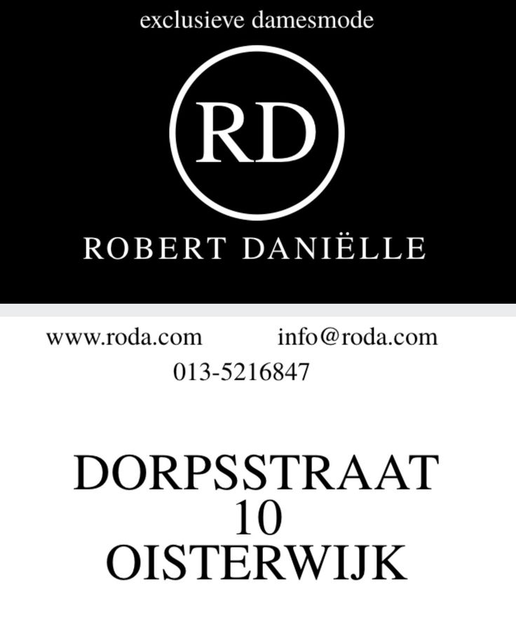 ROBERT DANIËLLE, Exclusieve Damesmode in OISTERWIJK, www.robertdanielle.nl o.a.: MARCCAIN, (collection+ sport), Luisa Cerano, Strenesse, Caroline Biss, FFC, Sem Per Lei, DL1961, Rosner enz..