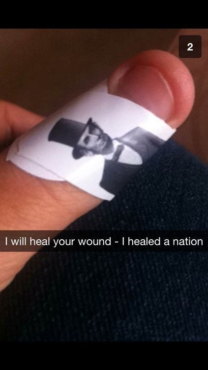 I want band aids like this!! lol