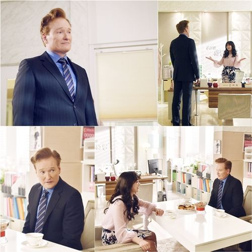 WATCH: Conan O'Brien proves he is cut out to be a Korean soap opera star