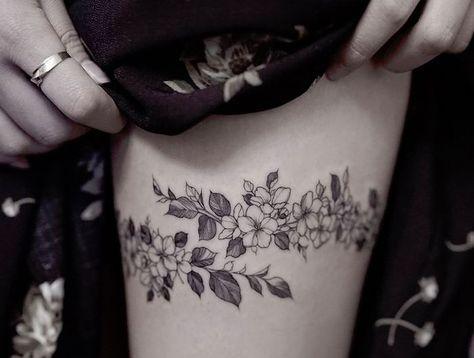 Tattoo Cuisse 48 Tatouages De Caractere Tattoo Tattoos Body