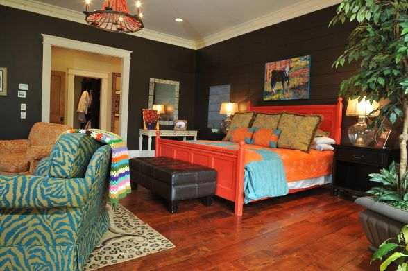 Best 20+ Bright Colored Bedrooms Ideas On Pinterest