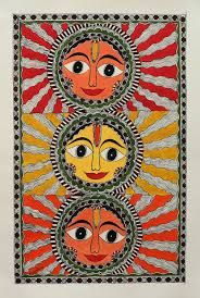 ancient gond krishna painting - Google Search