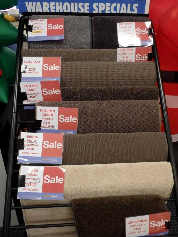Our stock carpet selection 1, in the store ready to go.