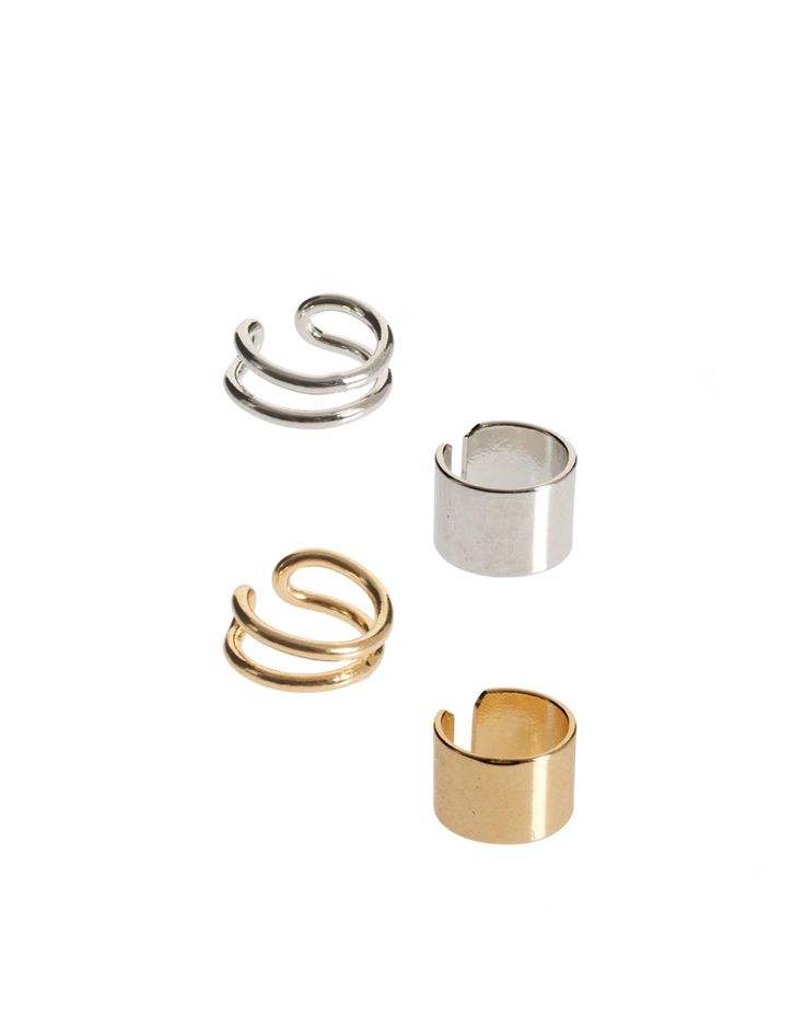 asos pack of four ear cuffs http://rstyle.me/hwnavfeiuw