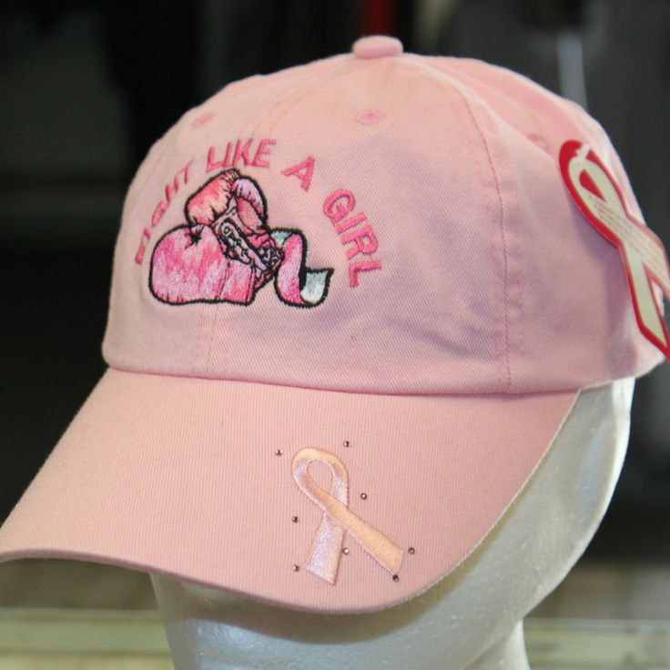 Hollywood Filane - Fight Like a Girl Breast cancer awareness hat, $19.95 (http://www.hollywoodfilane.com/fight-like-a-girl-breast-cancer-awareness-hat/)