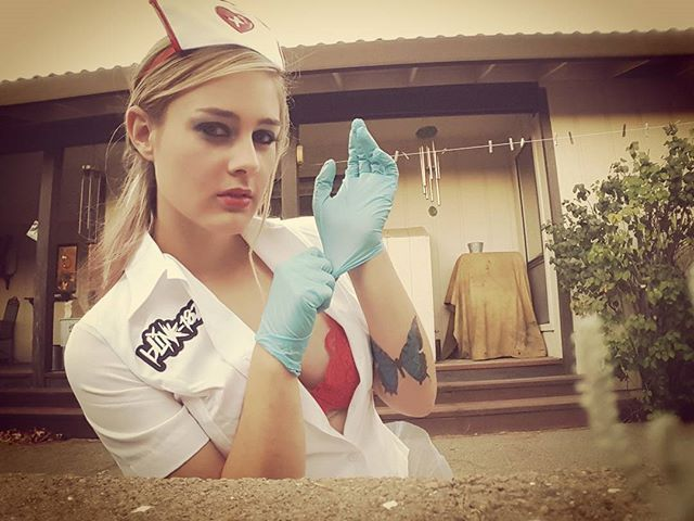 Pin for Later: 100+ Halloween Costume Ideas Inspired by the '90s Blink-182 Nurse
