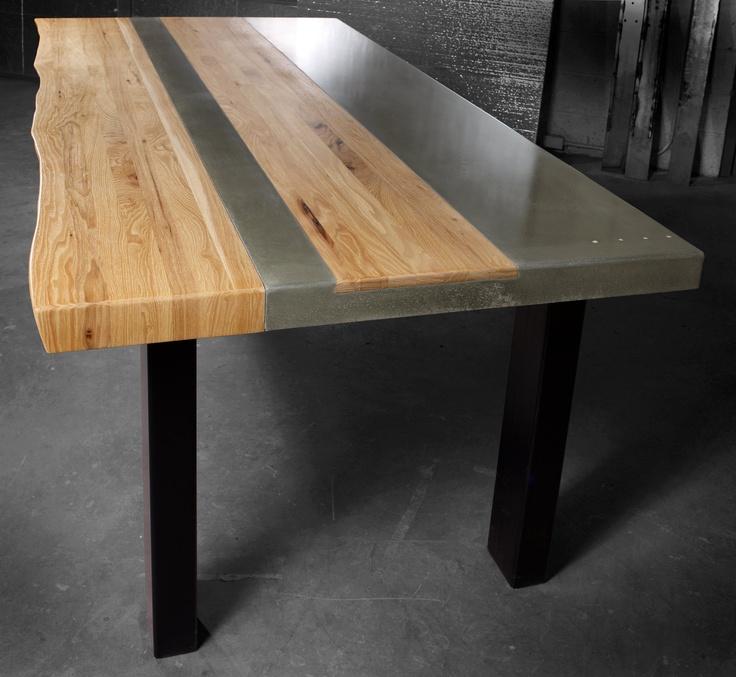 Best 25 Wood steel ideas on Pinterest Journal of Steel table