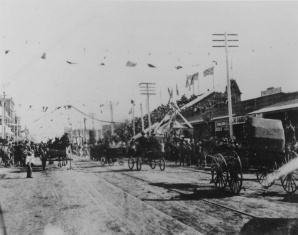 See how Phoenix celebrated Arizona's statehood in 1912.