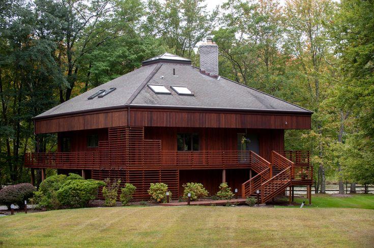 Fachada de madeira   – Facade Ideas, Houses