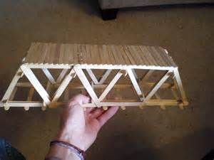 best popsicle stick bridge popsicle stick bridge popsicle stick house ...