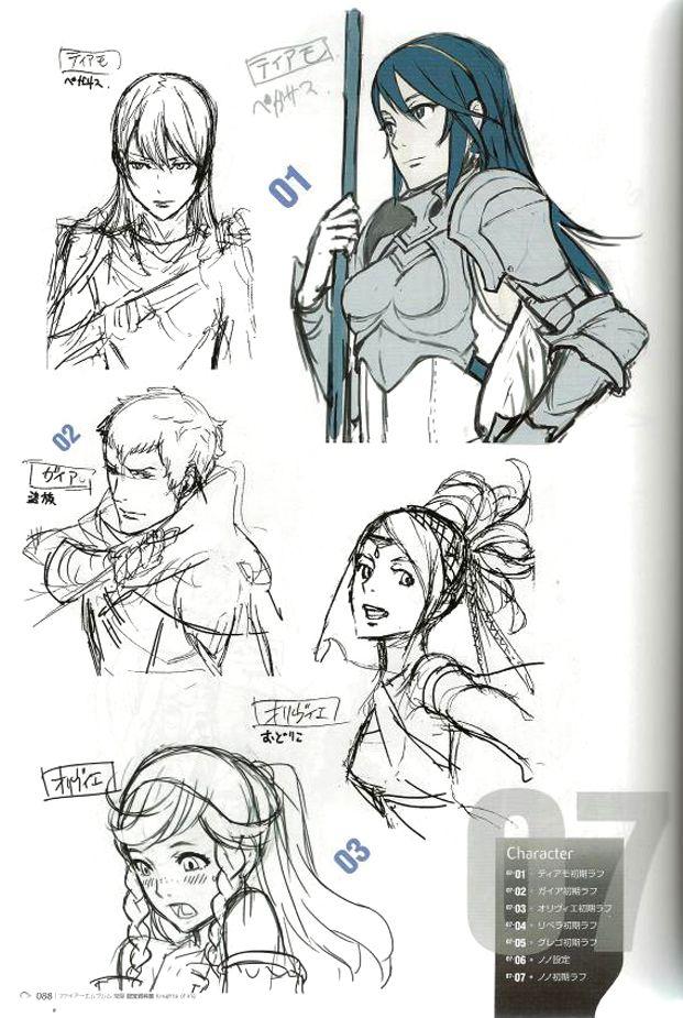 animationtidbits:  Fire Emblem: Awakening - Concept Art