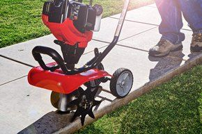 For straight and clean borders around your sidewalks and driveways, use a lawn edger. It will make a statement!