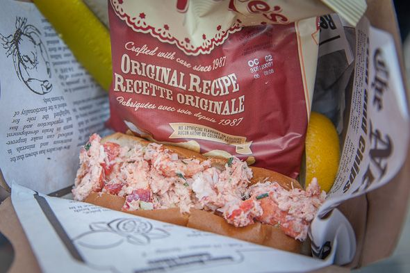 The Best Lobster Roll in Toronto