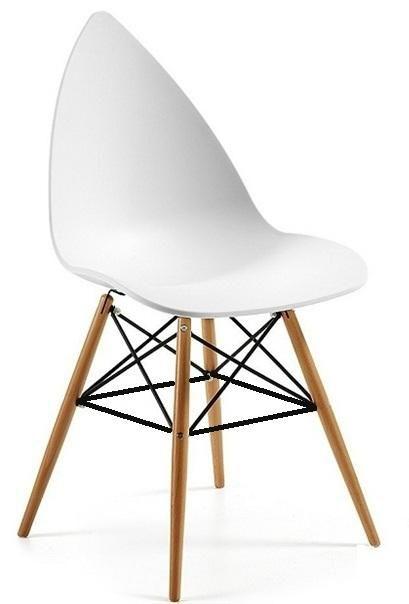 TOW-MAG - Cadeiras de Escritorio Visitante Branco