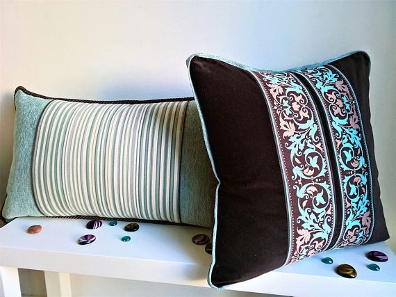 Luxury brown velvet decorative pillow cover luxury bedding